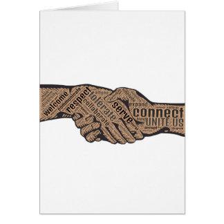 Handshake Card