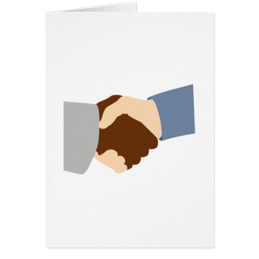 Handshake Greeting Cards