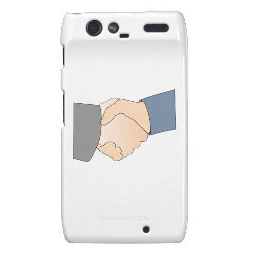 Handshake Motorola Droid RAZR Covers