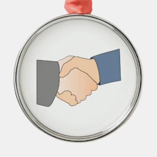 Handshake Ornament