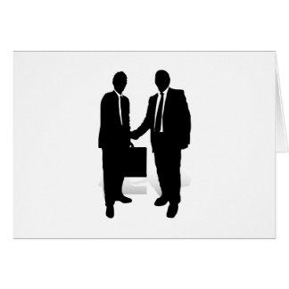 Handshake Greeting Card
