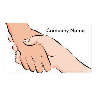 Handshake Hands Business Card Pack Of Standard Business Cards