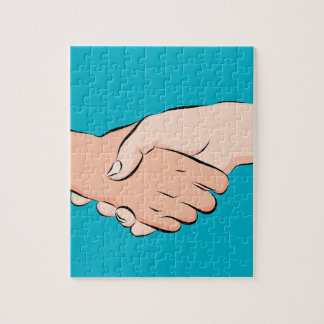 Handshake Hands Puzzle