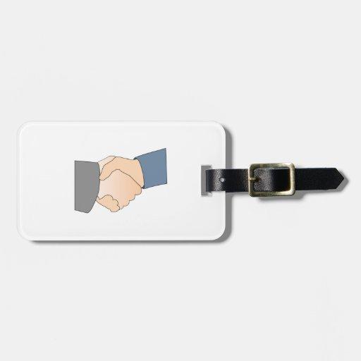 Handshake Bag Tags