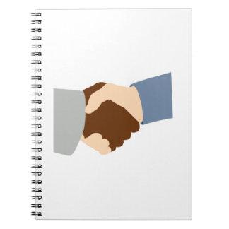 Handshake Spiral Note Books