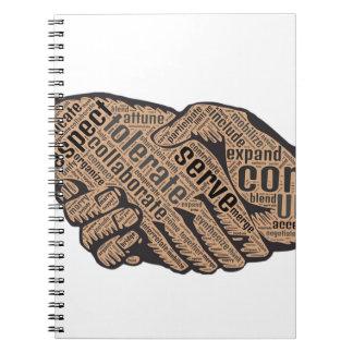 Handshake Notebook