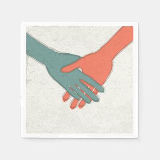 Handshake Paper Napkins