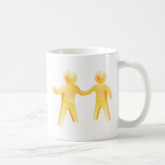 Handshake people mugs