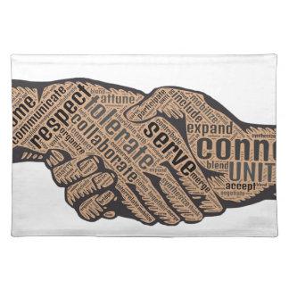 Handshake Placemat