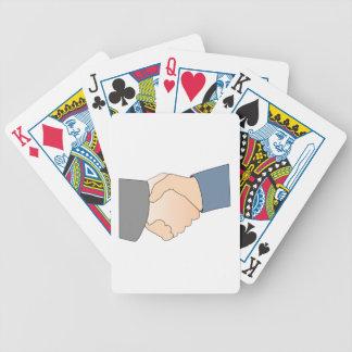 Handshake Bicycle Poker Deck