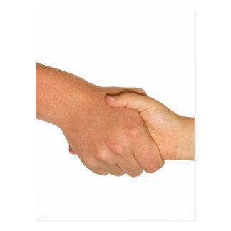 Handshake Postcard