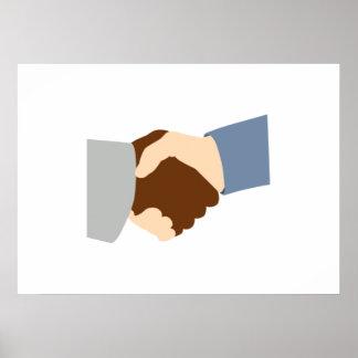 Handshake Print