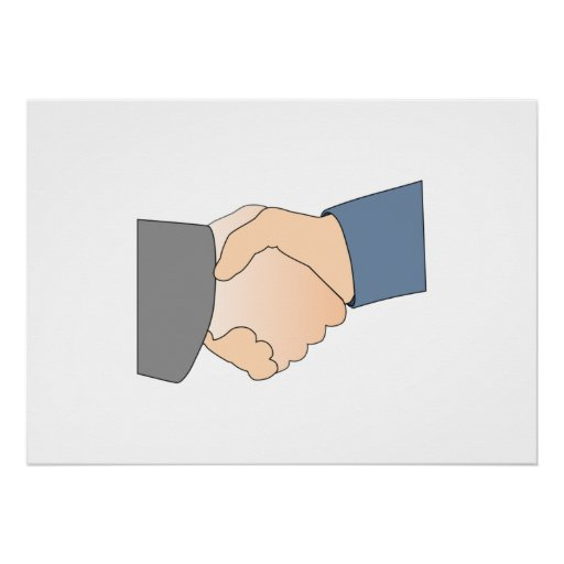Handshake Posters