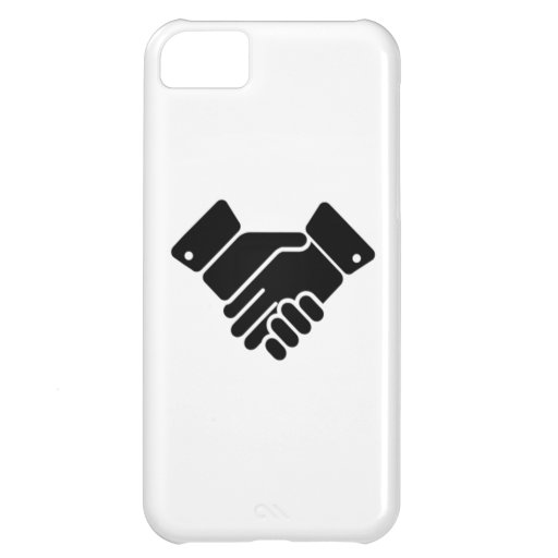 Handshake Sign Cover For iPhone 5C