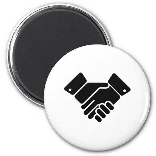 Handshake Sign Refrigerator Magnets
