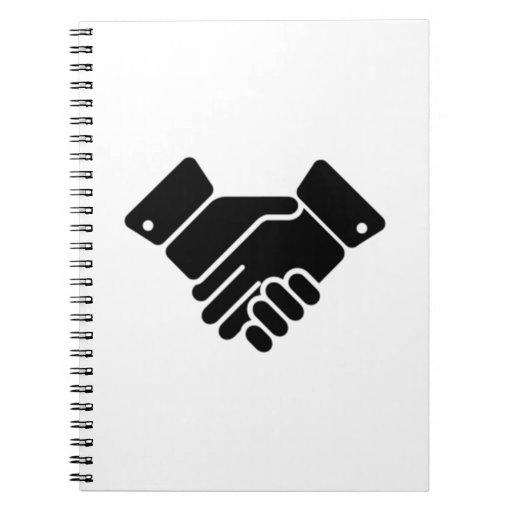 Handshake Sign Note Books