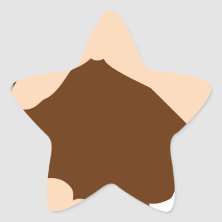 Handshake Star Sticker