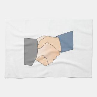 Handshake Hand Towels