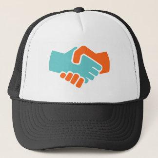 Handshake together trucker hat