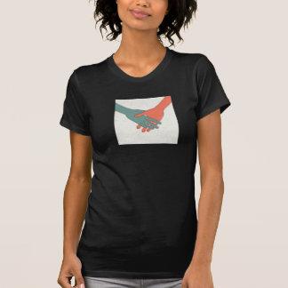 Handshake Womens T-Shirt