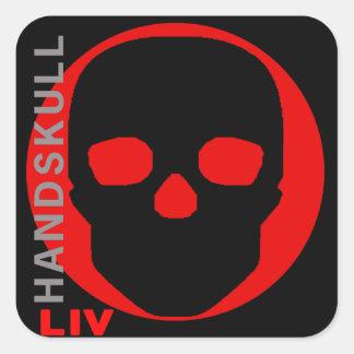HANDSKULL Liv - sticker