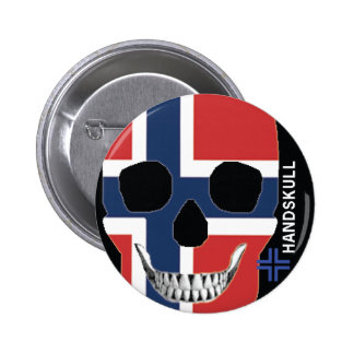 HANDSKULL Norway - Button