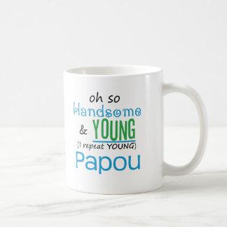 Handsome and Young Papou Coffee Mug