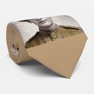 handsome Boer War soldier Tie