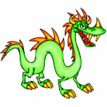 Handsome Chinese Dragon Photo Cut Outs