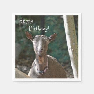 Handsome Goat Disposable Serviette