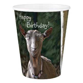 Handsome Goat Paper Cup