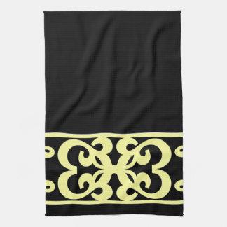 Handsome Kitchen Towel -Home  -Black/Creme