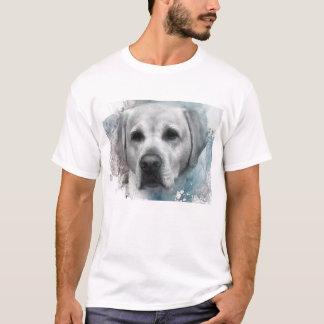Handsome Labrador Illustration T-Shirt