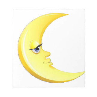 Handsome Moon Notepad
