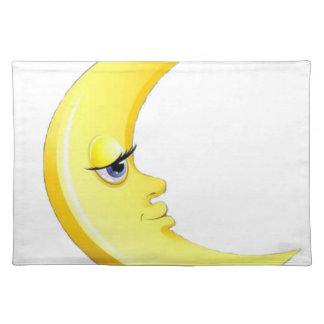 Handsome Moon Placemat