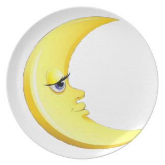 Handsome Moon Plate