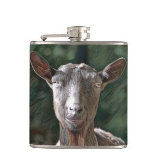 Handsome Old Goat Hip Flask