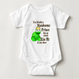 Handsome Prince Frog Baby Bodysuit