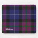Handsome Purple Pride of Scotland Tartan Plaid Mouse Pad