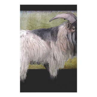 Handsome pygmy goat stationery