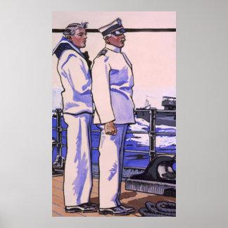 Handsome Sailors, WW1 1917 Art Posters