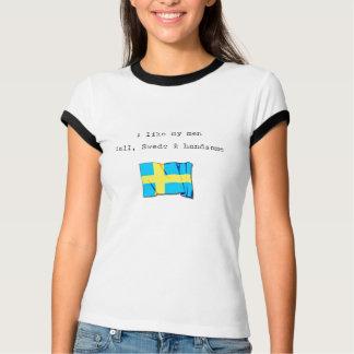 """""""Handsome Swede..."""" T-Shirt"""