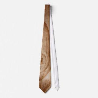 Handsome Wood Grain Neck Tie