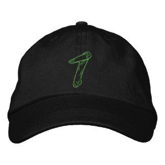 Handstitch Number 1 Embroidered Baseball Cap
