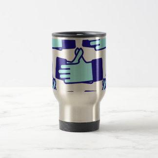 Handvibrate like handshake coffee mugs