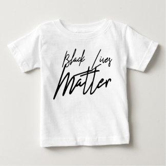 Handwritten Black Lives Matter Baby T-Shirt
