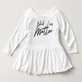 Handwritten Black Lives Matter Toddler Dress