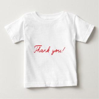 handwritten Thank You note Baby T-Shirt
