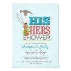 Handy Couple Shower Invitation