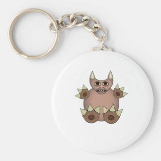 Handy Footy Zulwarf Squashy Creature Basic Round Button Key Ring